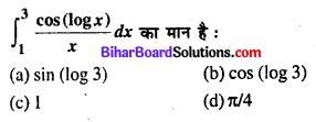 Bihar Board 12th Maths Objective Answers Chapter 7 समाकलन Q37
