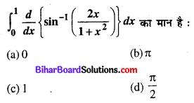 Bihar Board 12th Maths Objective Answers Chapter 7 समाकलन Q7