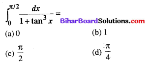 Bihar Board 12th Maths Objective Answers Chapter 7 समाकलन Q72