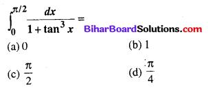 Bihar Board 12th Maths Objective Answers Chapter 7 समाकलन Q72