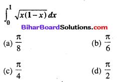 Bihar Board 12th Maths Objective Answers Chapter 7 समाकलन Q78