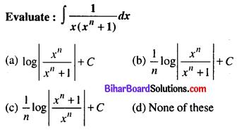 Bihar Board 12th Maths Objective Answers Chapter 7 Integrals Q12