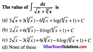 Bihar Board 12th Maths Objective Answers Chapter 7 Integrals Q14