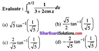 Bihar Board 12th Maths Objective Answers Chapter 7 Integrals Q29