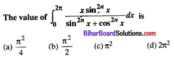 Bihar Board 12th Maths Objective Answers Chapter 7 Integrals Q36