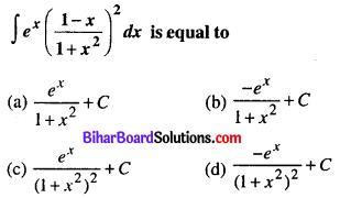Bihar Board 12th Maths Objective Answers Chapter 7 Integrals Q38