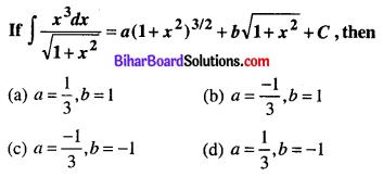 Bihar Board 12th Maths Objective Answers Chapter 7 Integrals Q40