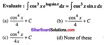 Bihar Board 12th Maths Objective Answers Chapter 7 Integrals Q5