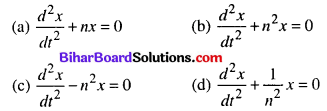 Bihar Board 12th Maths Objective Answers Chapter 9 Differential Equations Q11
