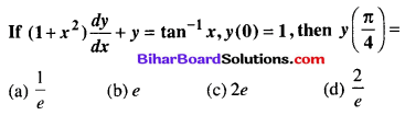 Bihar Board 12th Maths Objective Answers Chapter 9 Differential Equations Q59