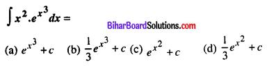 Bihar Board 12th Maths VVI Objective Questions Model Set 1 in English Q26