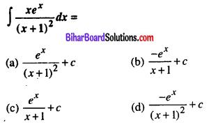 Bihar Board 12th Maths VVI Objective Questions Model Set 1 in English Q27