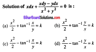 Bihar Board 12th Maths VVI Objective Questions Model Set 1 in English Q36