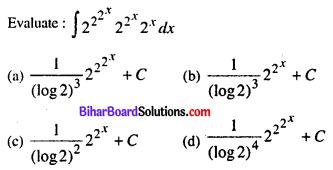 Bihar Board 12th Maths VVI Objective Questions Model Set 2 in English 1