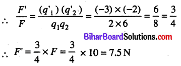 Bihar Board 12th Physics Objective Answers Chapter 1 वैद्युत आवेश तथा क्षेत्र - 19