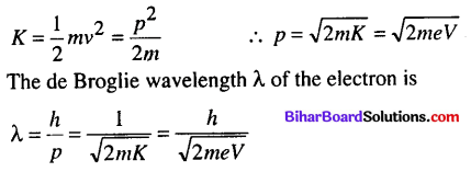 Bihar Board 12th Physics Objective Answers Chapter 11 Dual Nature of Radiation and Matter - 13