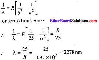 Bihar Board 12th Physics Objective Answers Chapter 12 Atoms in english medium 6