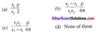 Bihar Board 12th Physics Objective Answers Chapter 3 Current Electricity - 1