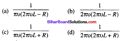 Bihar Board 12th Physics Objective Answers Chapter 7 Alternating Current - 4