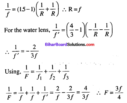 Bihar Board 12th Physics Objective Answers Chapter 9 Ray Optics and Optical Instruments - 16