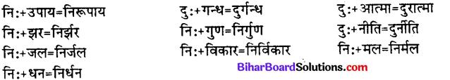 Bihar Board Class 12th Hindi व्याकरण संधि 10