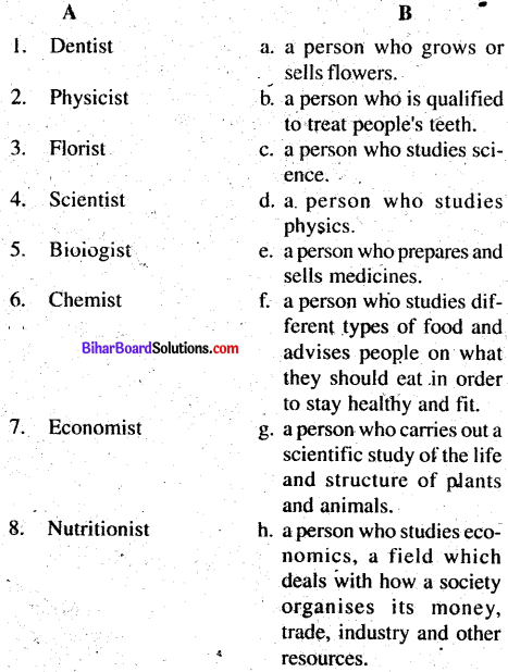 Bihar Board Class 8 English Book Solutions Chapter 6 Tess Buys a Miracle 1
