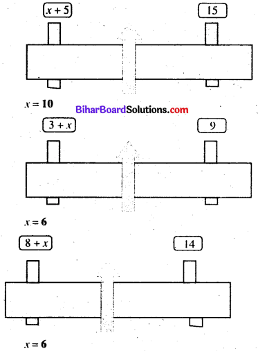 Bihar Board Class 7 Maths Solutions Chapter 11 सरल समीकरण Ex 11.2 Q1