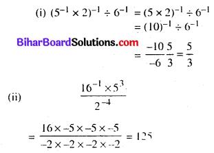 Bihar Board Class 8 Maths Solutions Chapter 10 घातांक और घात Ex 10.1 Q9