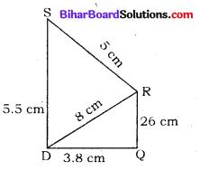 Bihar Board Class 8 Maths Solutions Chapter 7 ज्यामितीय आकृतियों की रचना Ex 7.1 Q2