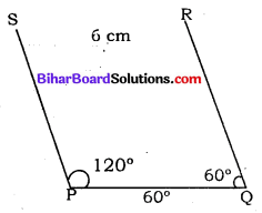 Bihar Board Class 8 Maths Solutions Chapter 7 ज्यामितीय आकृतियों की रचना Ex 7.3 Q3