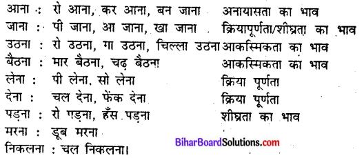 Bihar Board Class 9 Hindi व्याकरण परसर्ग 'ने' का क्रिया पर प्रभाव - 5