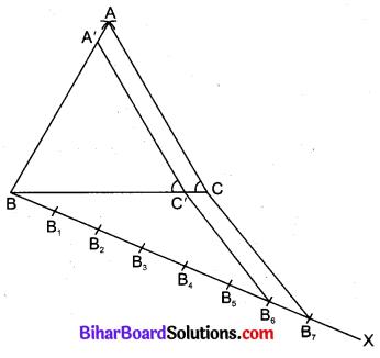 Bihar Board Class 10 Maths Solutions Chapter 11 रचनाएँ Additional Questions LAQ 3