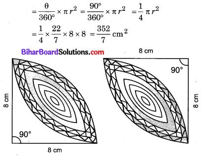 Bihar Board Class 10 Maths Solutions Chapter 12 वृतों से संबंधित क्षेत्रफल Ex 12.3 Q16.1