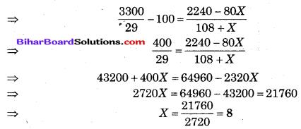 Bihar Board Class 10 Maths Solutions Chapter 14 सांख्यिकी Additional Questions LAQ 2.2