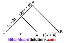 Bihar Board Class 10 Maths Solutions Chapter 6 त्रिभुज Additional Questions SAQ 3
