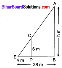 Bihar Board Class 10 Maths Solutions Chapter 6 त्रिभुज Ex 6.3 Q15