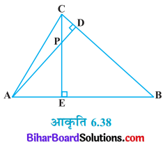 Bihar Board Class 10 Maths Solutions Chapter 6 त्रिभुज Ex 6.3 Q7