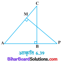 Bihar Board Class 10 Maths Solutions Chapter 6 त्रिभुज Ex 6.3 Q9