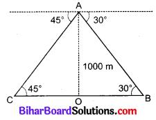 Bihar Board Class 10 Maths Solutions Chapter 9 त्रिकोणमिति के कुछ अनुप्रयोग Additional Questions LAQ 12