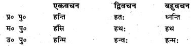 Bihar Board Class 6 Sanskrit व्याकरण धातु-रूपाणि 21
