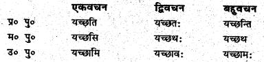 Bihar Board Class 6 Sanskrit व्याकरण धातु-रूपाणि 6