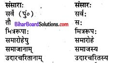 Bihar Board Class 7 Sanskrit Solutions Chapter 8 वसुधैव कुटुम्बकम् 3