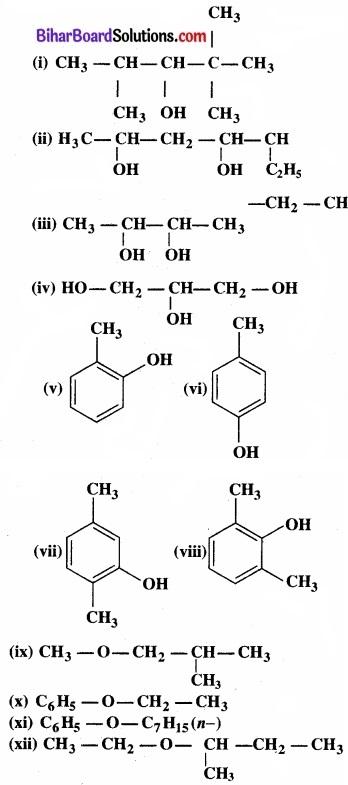BIhar Board Class 12 Chemistry Chapter 11 ऐल्कोहॉल, फ़िनॉल एवं ईथर img-25