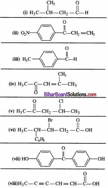 BIhar Board Class 12 Chemistry Chapter 12 ऐल्डिहाइड, कीटोन एवं कार्बोक्सिलिक अम्ल img-21