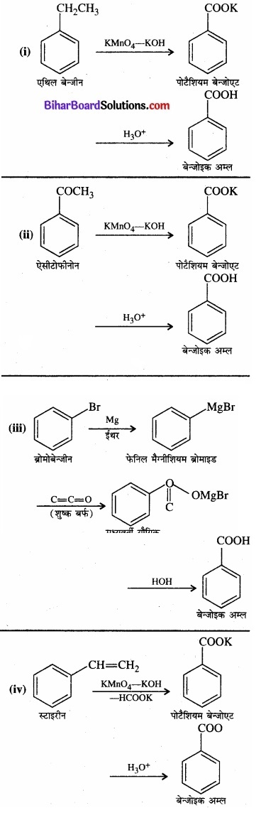 BIhar Board Class 12 Chemistry Chapter 12 ऐल्डिहाइड, कीटोन एवं कार्बोक्सिलिक अम्ल img-7