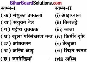 Bihar Board Class 11 Biology Chapter 7 प्राणियों में संरचनात्मक संगठन
