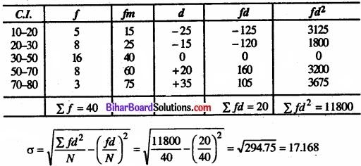 Bihar Board Class 11 Economics Chapter 6 परिक्षेपण के माप Part - 2 img 30