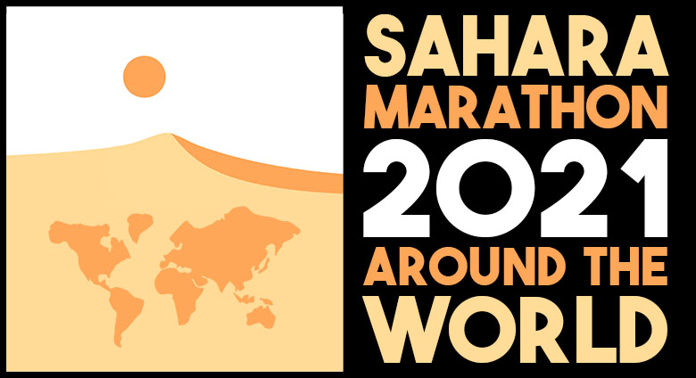 Sahara Marathon 2021 – En todo el mundo – SaharaMarathon