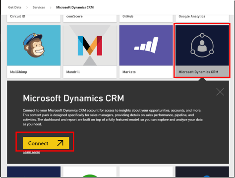 Power BI CRM Connector 2