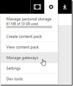 Managing Gateways
